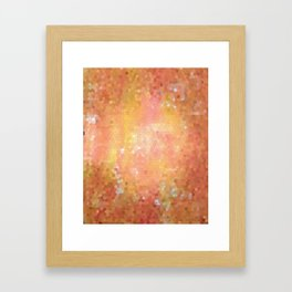 Inward Beauty Framed Art Print