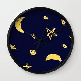Night Time PJs Wall Clock