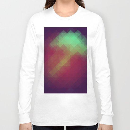 Jelly Pixel Long Sleeve T-shirt
