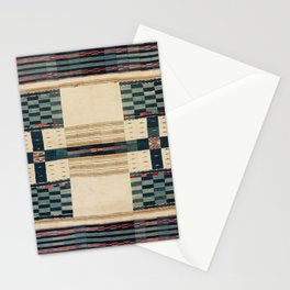 V43 Old Epic Moroccan Carpet Design Stationery Cards