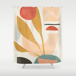 Abstract Shapes 20 Shower Curtain
