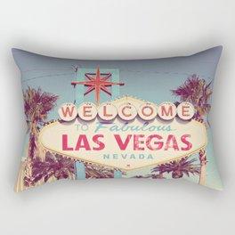 Welcome to fabulous Las Vegas Rectangular Pillow