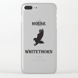 TOG House Whitethorn Clear iPhone Case