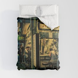 Late Night Scene/ Anthony Presley Photo Print Comforters