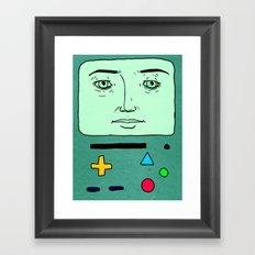 BMO kinda Framed Art Print