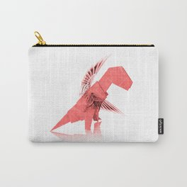 Origami Winged T-Rex Carry-All Pouch