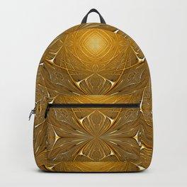 Gold ornament Backpack