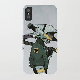 He Who Conquers The Left Side iPhone Case