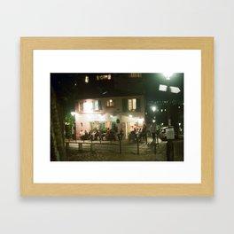 maison rose   paris Framed Art Print