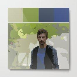 David Haller (Color Swatch) Metal Print