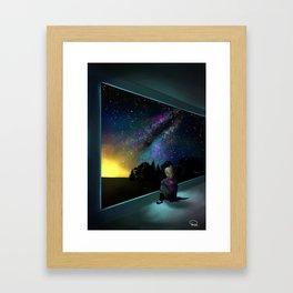Mystery Artwork Framed Art Print