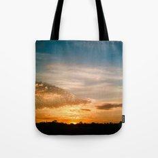 Where the sun rises Tote Bag