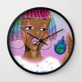 Comet Queen Kandi Wall Clock