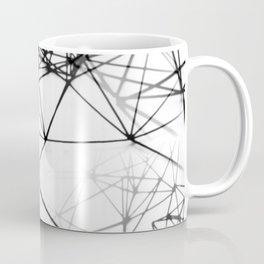 Geometric himmeli ornaments as minimal seamless pattern Coffee Mug