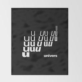 UNIVERS Throw Blanket