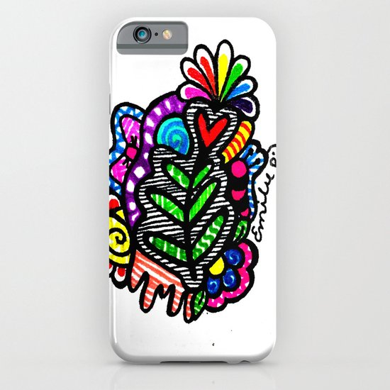 Rainbow Doodle iPhone & iPod Case