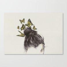 Hair II Canvas Print