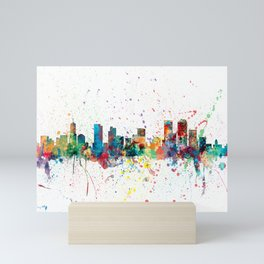Denver Colorado Skyline Mini Art Print