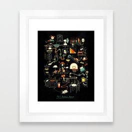 Breakfast Machine Framed Art Print