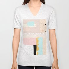 On the wall#3 Unisex V-Neck