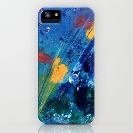 Views of Rainbow Coral, Tiny World Collection iPhone Case