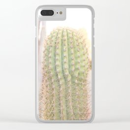 Ethereal Cacti II Clear iPhone Case