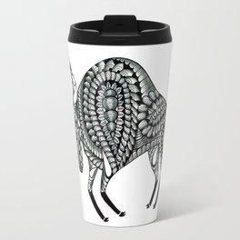 Ornate Bull Travel Mug
