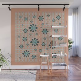 SNOW FLAKES Wall Mural