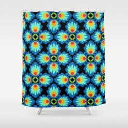 Folklore Rythmes Kaleidoscope Shower Curtain