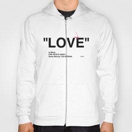 """LOVE"" Hoody"