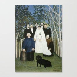 The Wedding Party Canvas Print