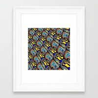 scales Framed Art Prints featuring Scales by David  Gough