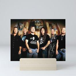 Iron Maiden legacy of the beast tour 2019 sil2 Mini Art Print