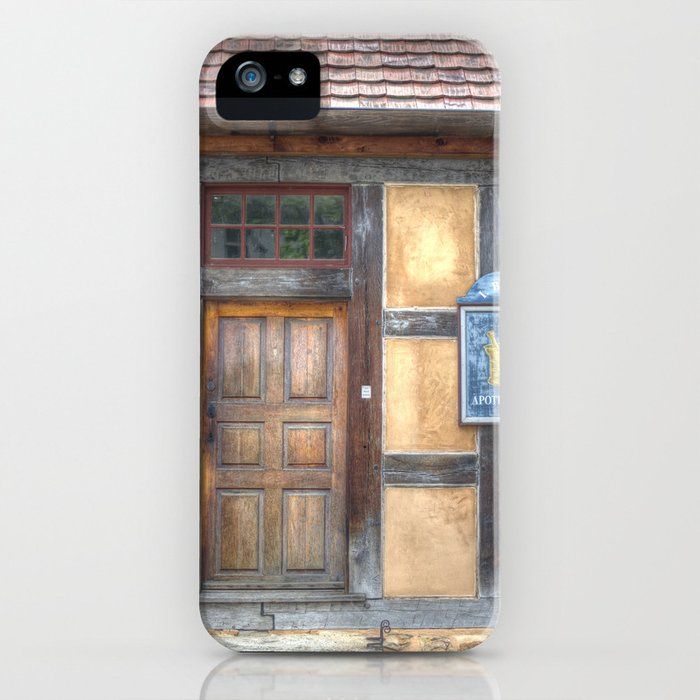 Apothecary House iPhone Case