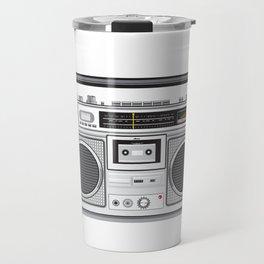 Vintage Portable Radio Cassette Player Retro Travel Mug