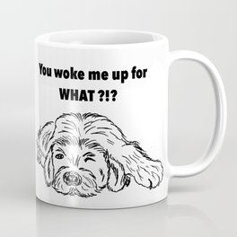 Moody dog Coffee Mug