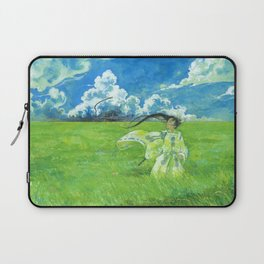 August - Indication of rain - Laptop Sleeve