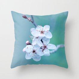 hope springs eternally green Throw Pillow