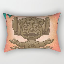 Tiki 626 Rectangular Pillow
