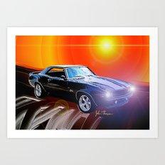 1969 Camaro SS Art Print