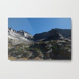Glacier Gorge Cirque Metal Print