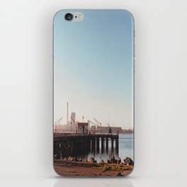 Dock With Mill-Film Camera iPhone Skin