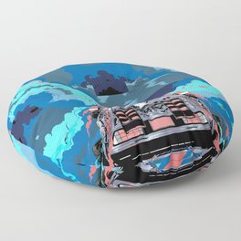Back to the Future 2 - BTTF Floor Pillow