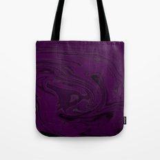 black and purple swirls  Tote Bag