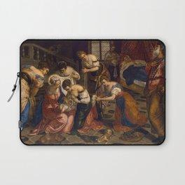"Tintoretto (Jacopo Robusti) ""Birth of St John the Baptist"" Laptop Sleeve"