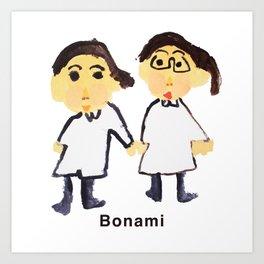 Bon ami !! Art Print