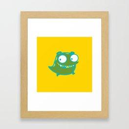 cutie monster_01 Framed Art Print