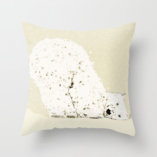 bears life 2 Throw Pillow