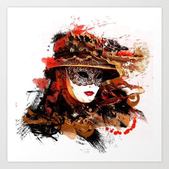 Mask 11 Art Print