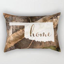Oklahoma is Home - Camo Rectangular Pillow